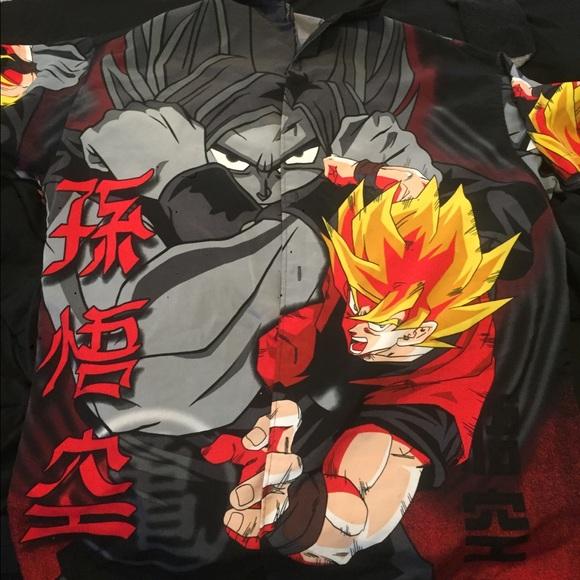a33b5d53e1e dragon ball z Other - Button down dragon ball z shirt